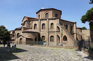 The Basilica of San Vitale in Ravenna contains some of the finest examples of Byzantine art in Europe