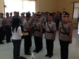 Kasat Lantas dan Intelkam Polres Abdya di Ganti