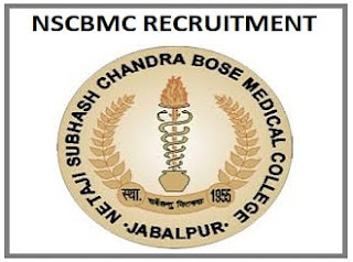 NSCBMC Jabalpur Various Post recruitment 2019