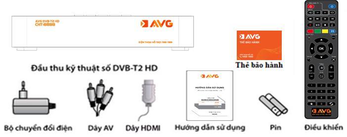 Bộ thiết bị truyền hình măt đất của AVG