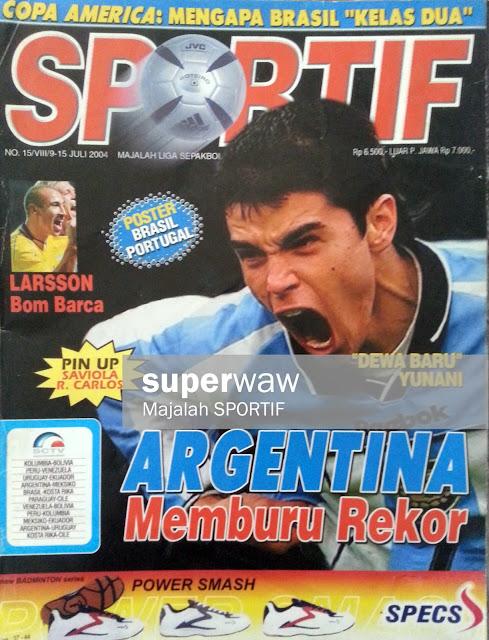 Majalah SPORTIF: ARGENTINA Memburu Rekor