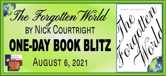 The Forgotten World book blog tour promotion banner