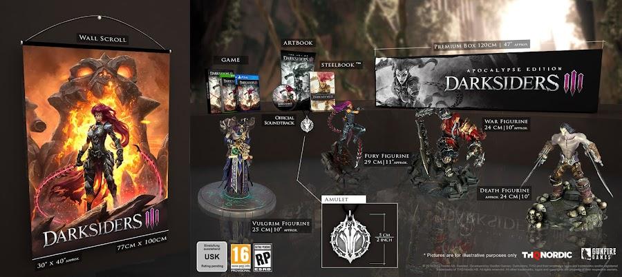 darksiders 3 apocalypse collectors edition