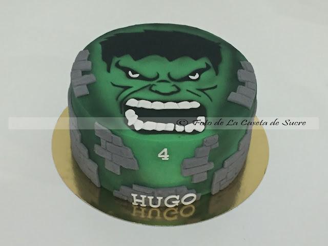 tarta hulk cake