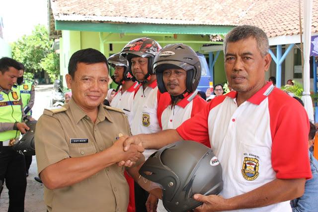 Dit Lantas Polda Lampung Asistensi Kampung Tertib Lalu Lintas di Kelurahan Enggal Bandar Lampung
