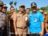 ASN dan Honorer Pemkab Nias Selatan Tes Urin Oleh BNN Kota Gunungsitoli