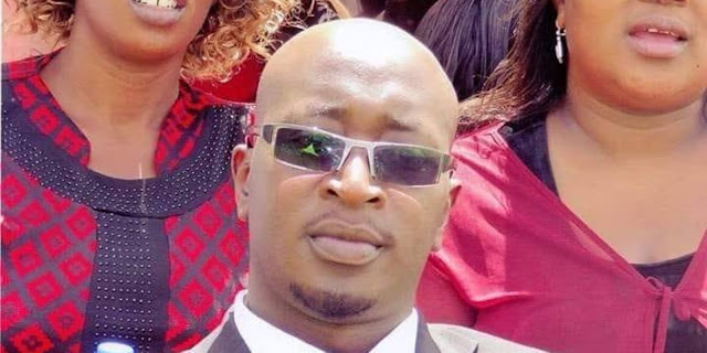 Ex-Taifa Leo sub-editor Dennis Geoffrey Mauya photo