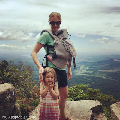 This Picture Shows Emily McGee Of My Adaptable Career With Her Daughter On A Hiking Holiday In South Africa