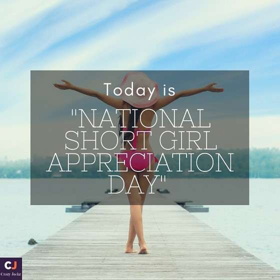 National Short Girl Appreciation Day Wishes for Instagram