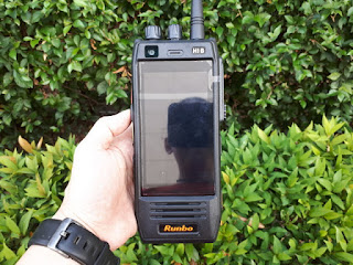 Runbo H1 DMR UHF 400-450 Outdoor Phone Android 4G LTE IP67 Certified
