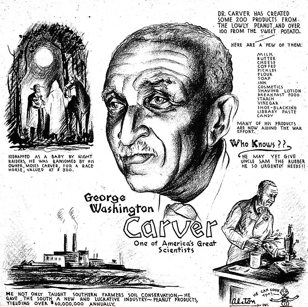 The Portrait Gallery George Washington Carver