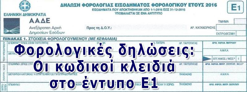 ΦΟΡΛΟΓΙΚΕΣ ΔΗΛΩΣΕΙΣ