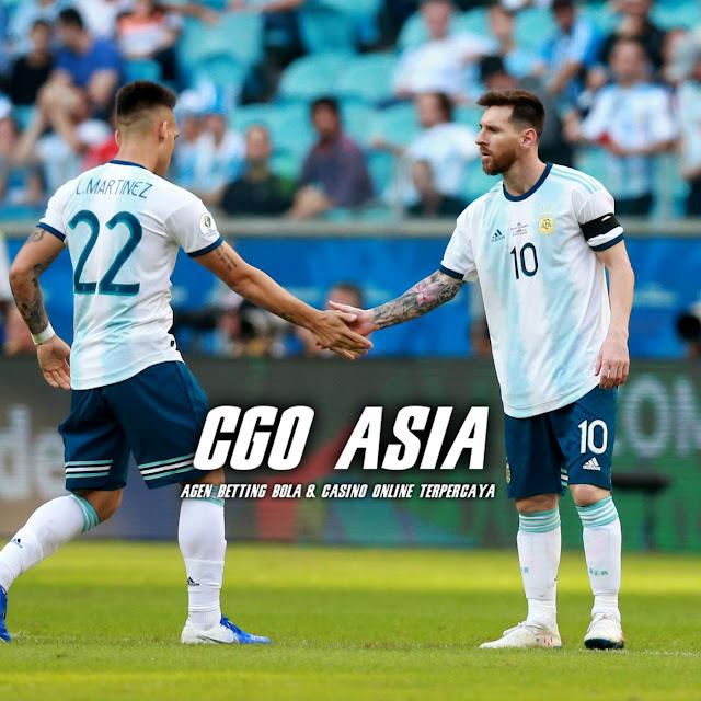 Lautaro Martinez dan Lionel Messi di Barcelona menguntungkan Argentina - Rumahsport.com
