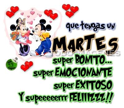 Imagenes De Feliz Martes Para Compartir Con Los Amigos Mizancudito