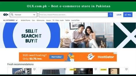 OLX.com.pk Best e-commerce store in Pakistan
