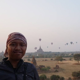 at Bagan, Myanmar