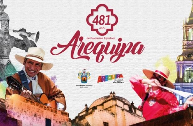 Arequipa: con izamiento de banderas empieza hoy conmemoración de su 481 aniversario
