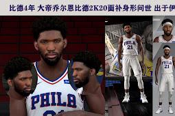 NBA 2K20 Joel Embiid Cyberface by Igo inge