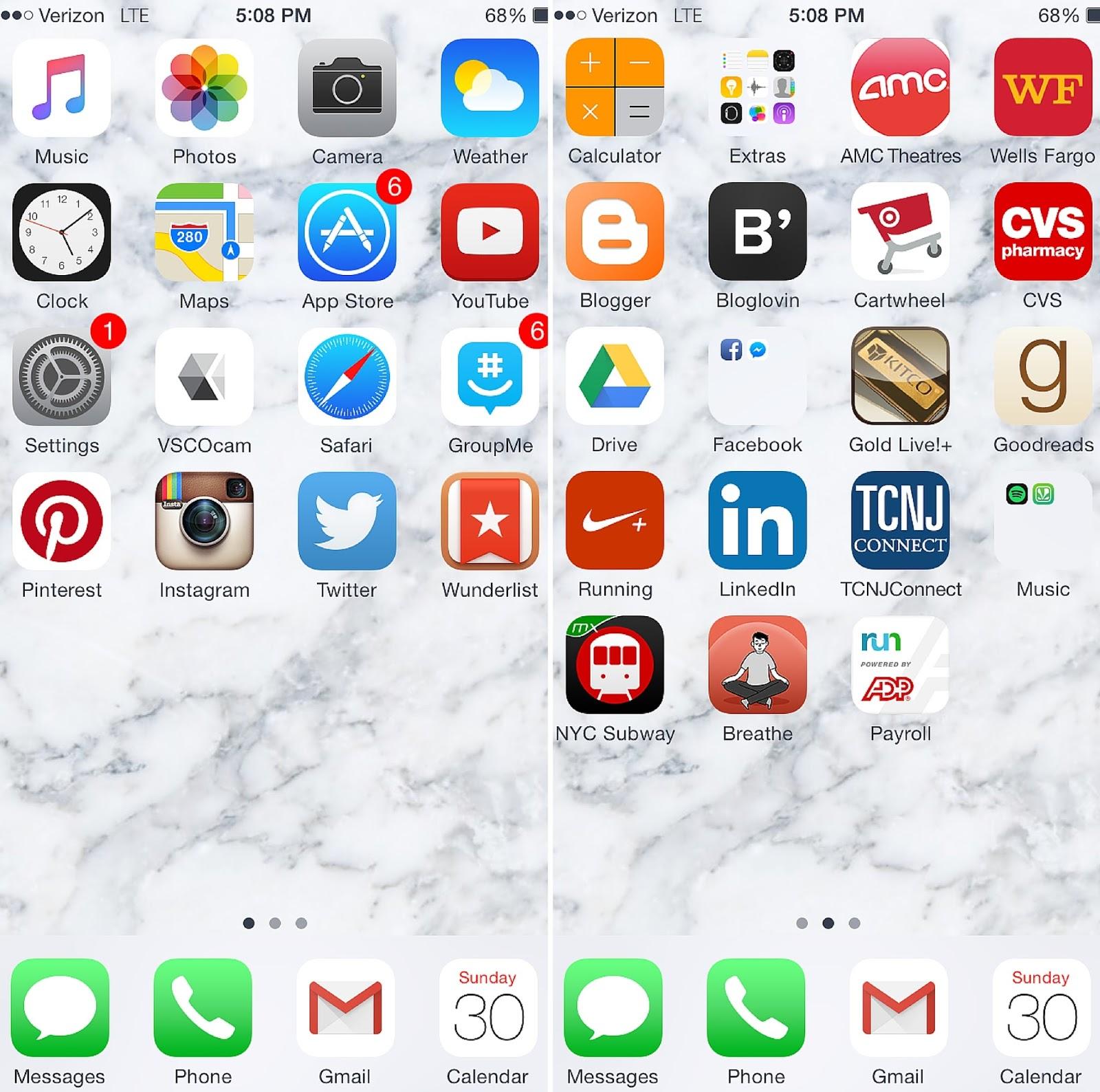 Digital Minimalism: Phone | http://alyssajfreitas.com/2015/09/digital-minimalism-phone.html