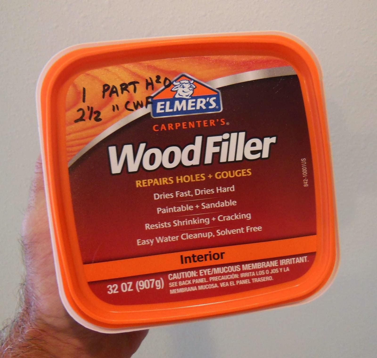 Model Rocket Building Get The Right Carpenter S Wood Filler