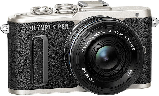 Olympus E-PL8 - one of the best mirrorless cameras in 2017