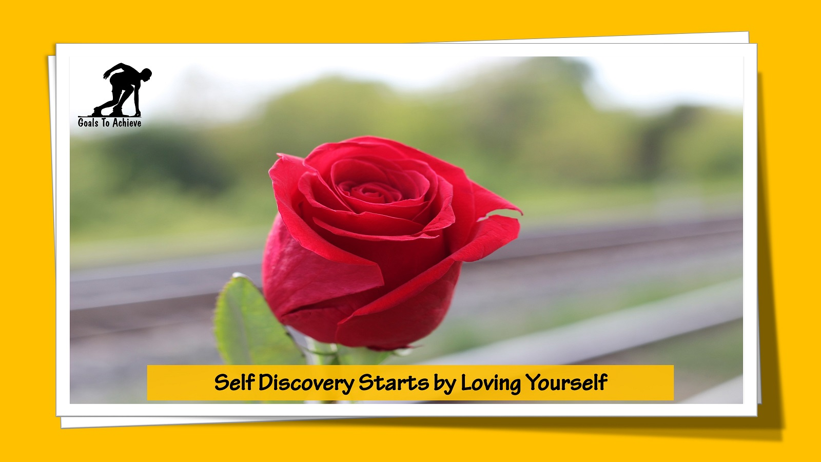 Self Discovery Starts by Loving Yourself