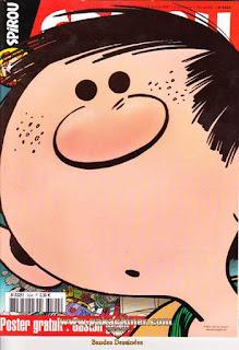 Spirou Hebdo, Poster Gaston partie 1, numéro 3594, année 2007