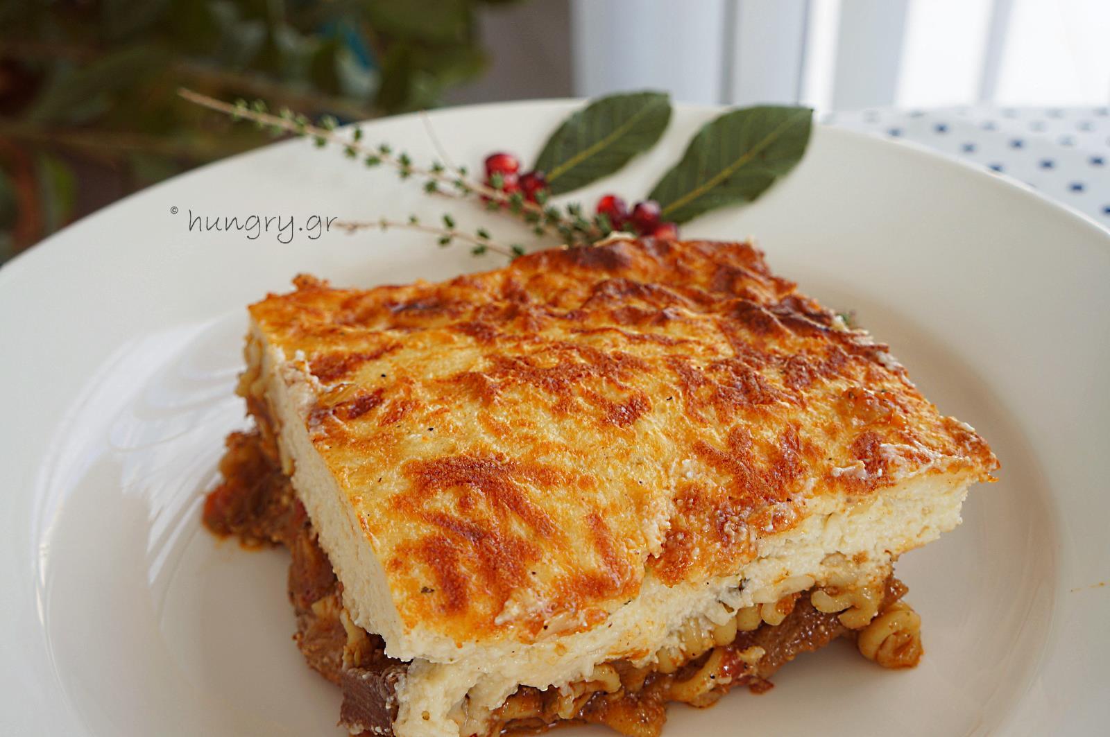 Kitchen Stories: Pork Ragù with Pasta & Bechamel Sauce