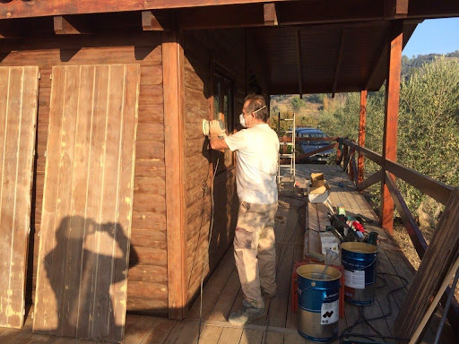 Reparación de casas de madera