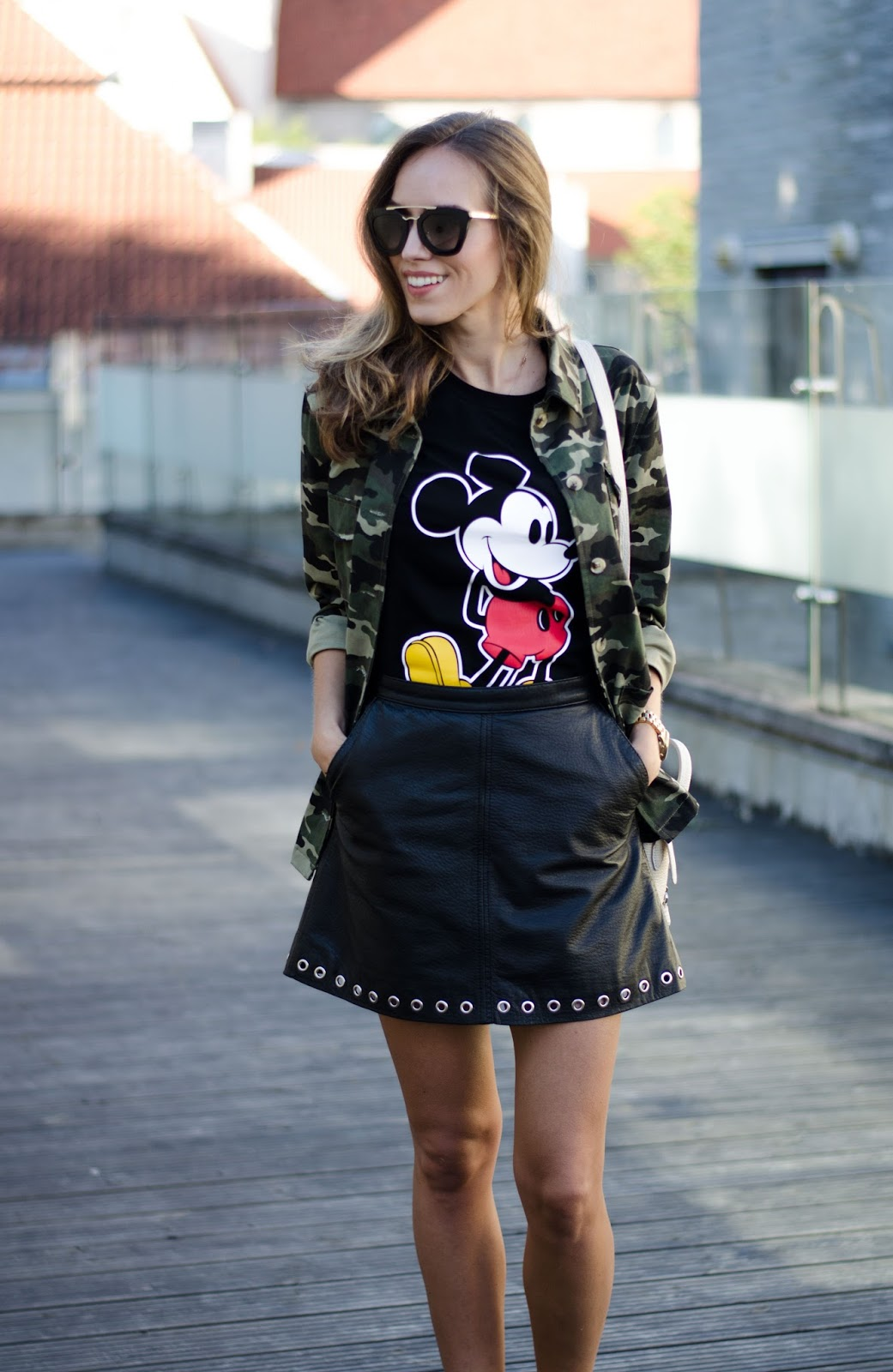 mickey tshirt outfit
