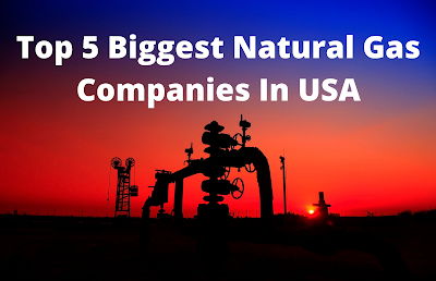 Top 5 Biggest Natural Gas Companies In USA