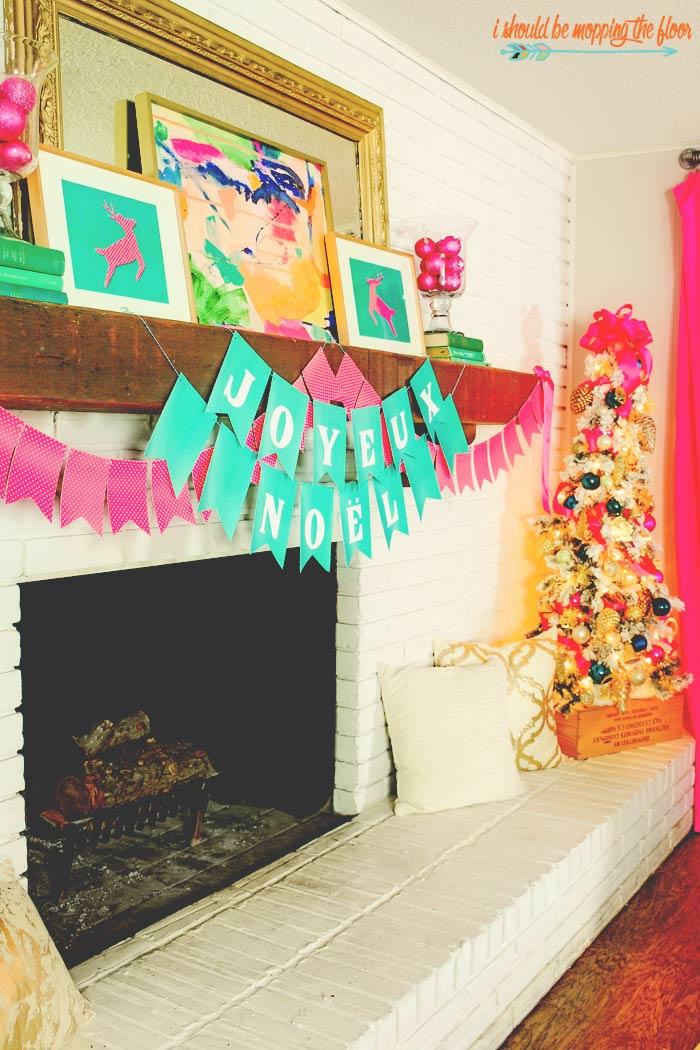 Hot Pink Christmas Decor