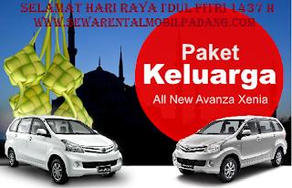 Paket Sewa Rental Mobil di Padang Mudik Lebaran Hari Raya I'dul Fitri