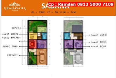 Rumah Di Jual Di Karawang, FREE Kanopi, Lokasi Strategis, CP 0813 5000 7109