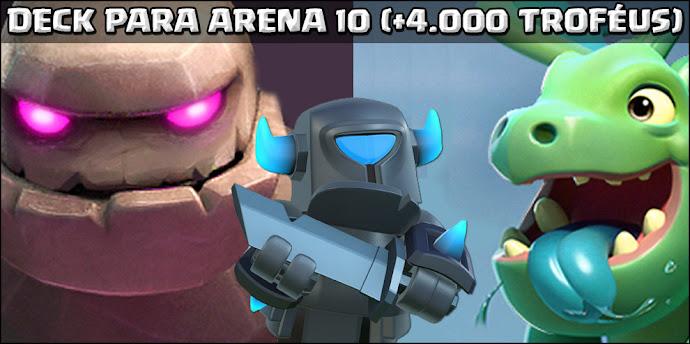 ▶️ Deck de Golem para Arena 10 (+4.000 troféus) - 1