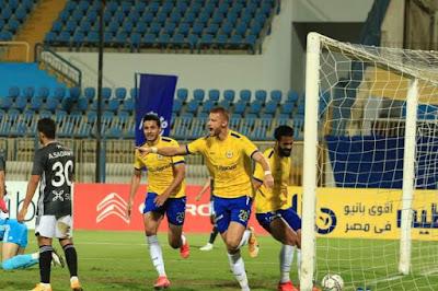 ملخص اهداف مباراة الاسماعيلي والجونة (3-2) الدوري المصري
