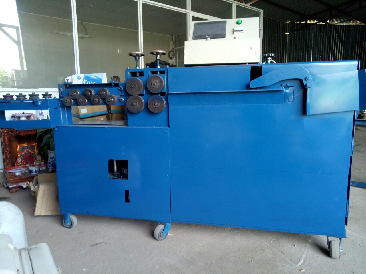 Máy bẻ đai sắt tự động - Cấu tạo và hoạt động của máy bẻ đai sắt