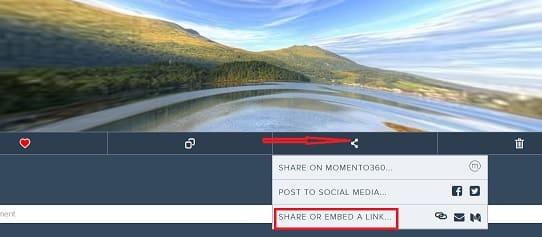 панорамное фото на веб странице