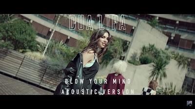 Dua Lipa - Blow Your Mind (Mwah)( #Acoustic Version )