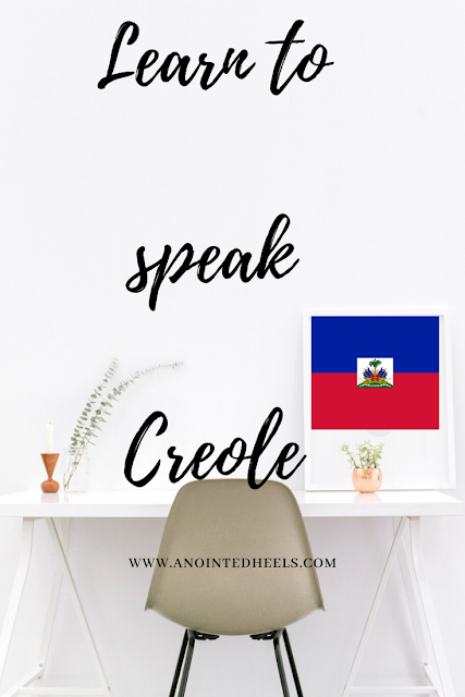 Learn to speak Creole, Creole for English speakers