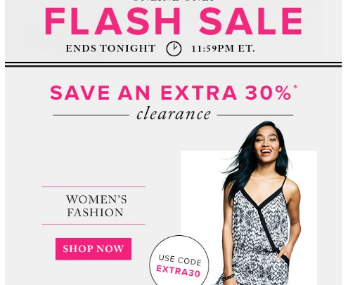 Hudson's Bay Flash Sale Extra 30% Off Clearance Women's Fashion Promo Code