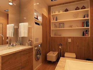 cuarto baño pequeño funcional