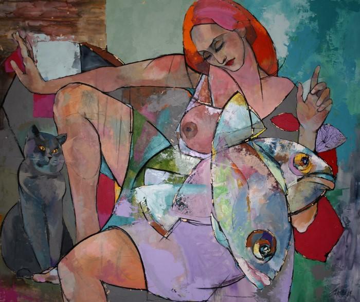 Современная российская художница. Марина Красницкая