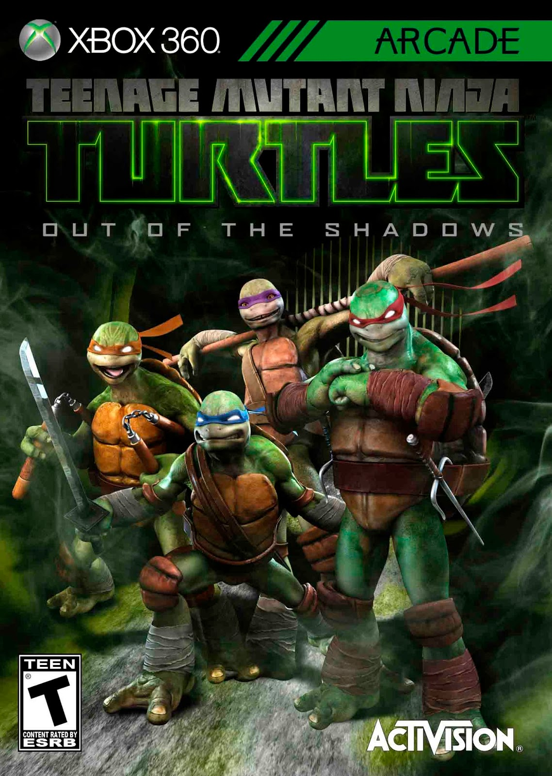 Teenage Mutant Ninja Turtles Out Of The Shadows Jtag Rgh Xbox 360 Torrent