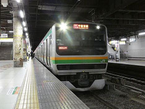 【ダイヤ改正で廃止!】宇都宮線 通勤快速 宇都宮行きE231系