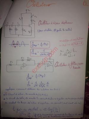 résumé de TP d'électronique analogique smp s5 fsr