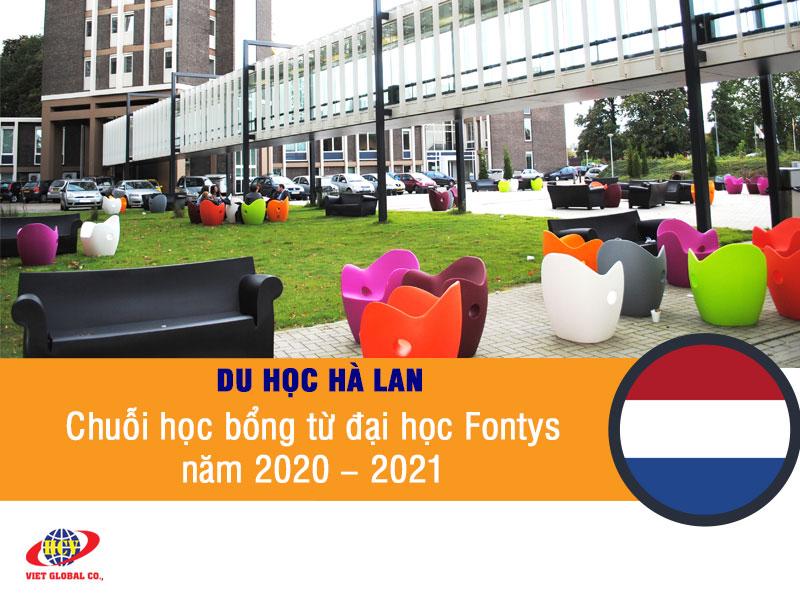 Du học Hà Lan: Chuỗi học bổng từ trường đại học Fontys năm 2020 – 2021