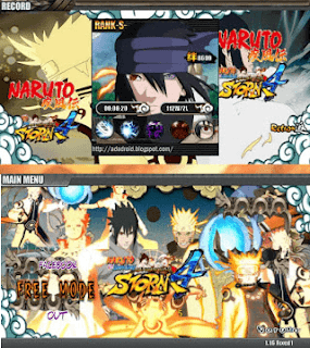 Naruto Senki Ultimate Ninja Storm 4 v2 Apk
