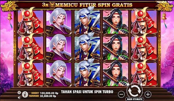 Main Gratis Slot Indonesia - Rise of Samurai (Pragmatic Play)