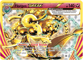 Florges BREAK BREAKthrough Pokemon Card